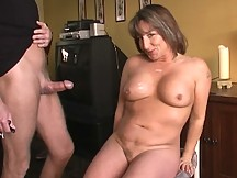 horny mature bitch cum coverred