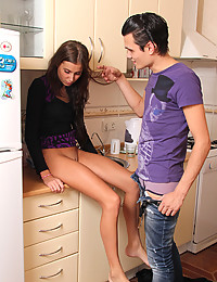 Lada had invited Vicon over for a cooking lesson, he had been delegated as the cake baker for an upcoming party but had no idea how to bake so Lada offered to help teach him. The two of them got up to much more than baking though!
